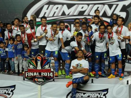 Pérsib Jadi Jawara Liga Indonesia 2014