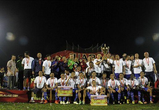 Pérsib jadi Jawara di Piala Walikota Padang