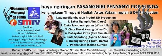 Pasanggiri Penyanyi Pop Sunda SMTV