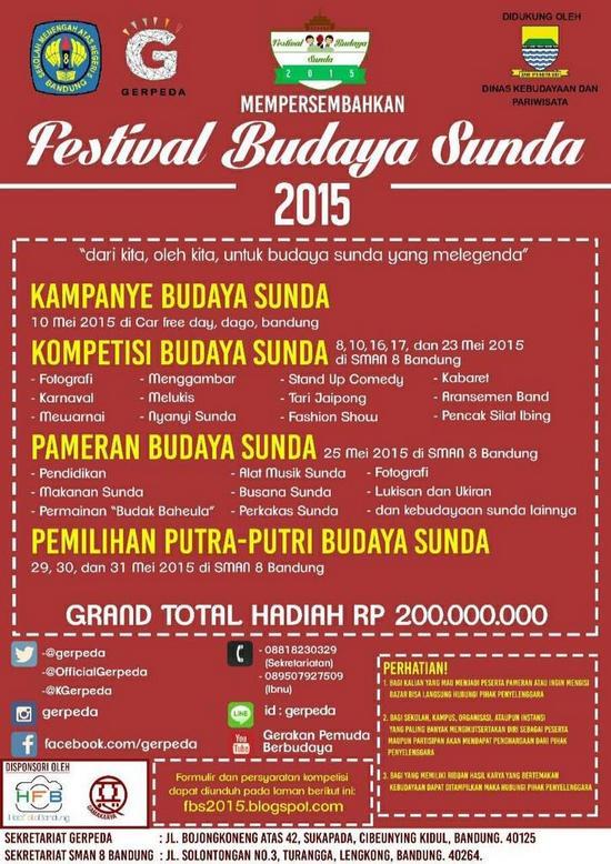 Féstival Budaya Sunda 2015