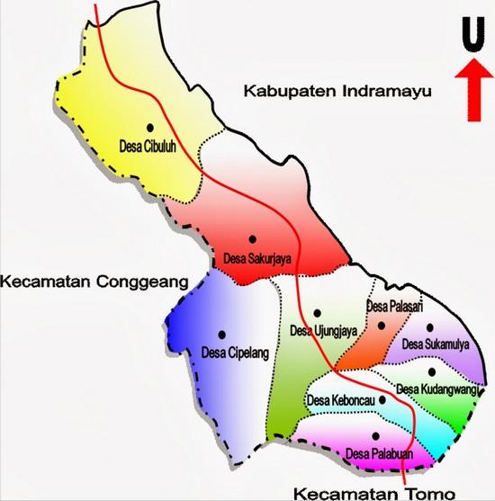 Wewengkon Kacamatan Ujungjaya