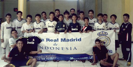 Peña Real Madrid de Indonesia Regional Sumedang