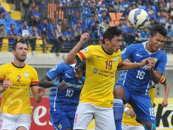 Pérsib Bandung diéléhkeun ku Kitchee SC, 0-2