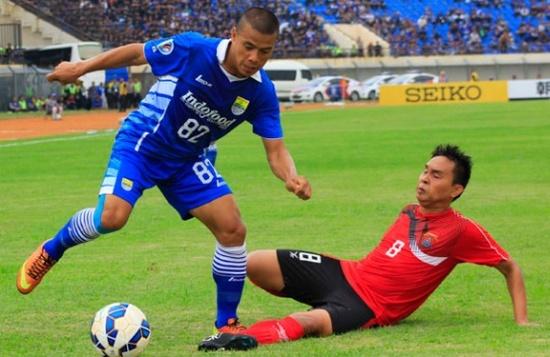 Tatandang Persib Bandung ngalawan Ayeyawady United