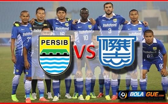 Pérsib Bandung ngalawan Kitchee SC pasosore ayeuna