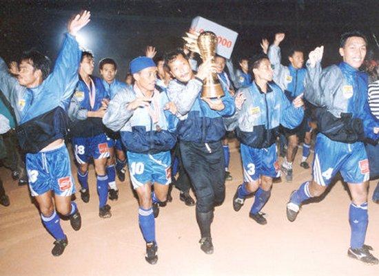 Persib Bandung nalika jadi jawara Liga Indonesia 1995