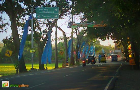 Salasahiji tempat di jalan Sumedang muru ka Cirebon