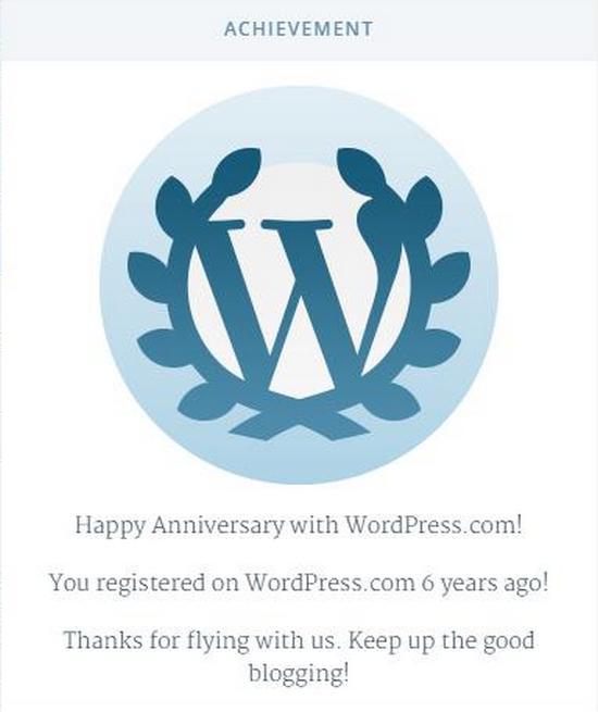 Geus Genep Taun Ngageugeuh WordPress