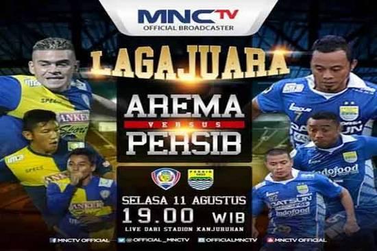 Tatandang Arema Malang ngalawan Persib Bandung