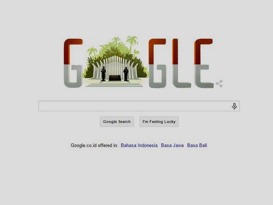 Google Doodle ngeunaan kamerdikaan Indonesia