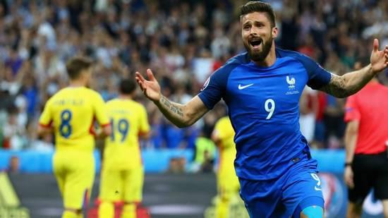 Perancis meunang ngalawan Rumania