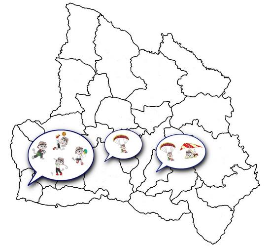 Genep cabang olahraga PON anu dipatandangkeun di wewengkon Sumedang