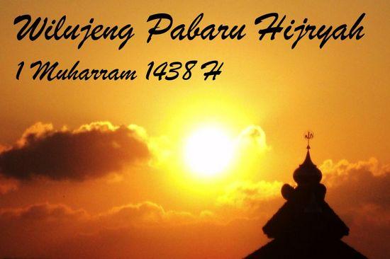 Wilujeng Pabaru Hijriyah 1438 H